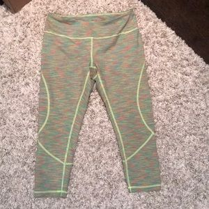 Zella: Multicolored cropped workout pants